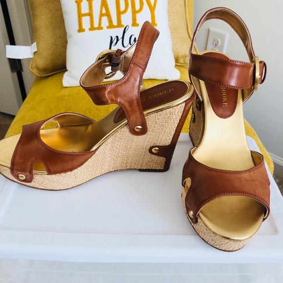 Audrey Brooke Wedge Sandal